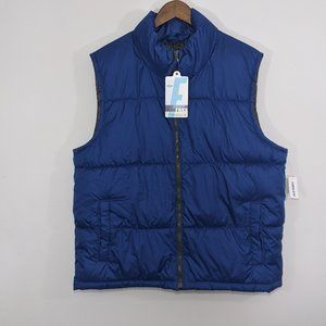 New OLD NAVY Men's Frost-Free Quilted Puffer Vest